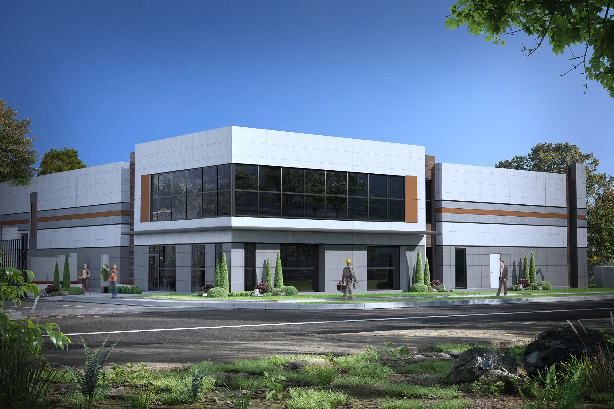 commercial office building rendering in-united-kingdom Notting-Hill